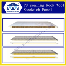 Glass Fiber Sandwich Panel With PU Sealing Side