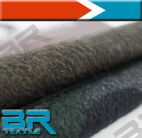 the Camouflage wool fabrics 50%w 50%poly apply yarn dyed and print for winter overcoat