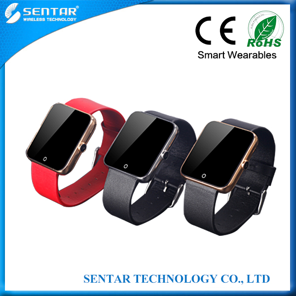 Waterproof wrist watch phone android 2015 mini hand watch mobile phone custom android mobile phone
