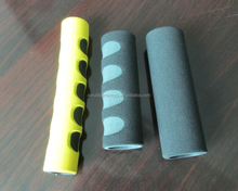 customized Silicone Rubber Handle Tool Grip / Gym Horizontal Bar Molded Grips / Garden Tool Handlebar Vulcanized Hand Grip