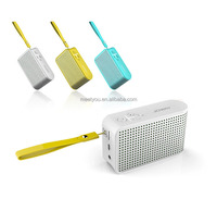 mini Aluminum bluetooth speaker with Handsfree calling/NFC/FM radio/SD/TF card/USB reader/MP3 functions