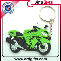 Wholesale promotion motor rubber pvc keychain