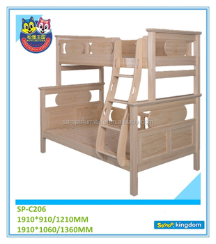 double bunk beds for kids full over full bunk bed wooden separable bunk bed