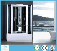 China luxury bathroom design walk in tub showr combo sex massage and steam minxer shower cabin price