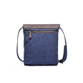 Canvas crossbody bag sling shoulder bag men and women leather messenger bag