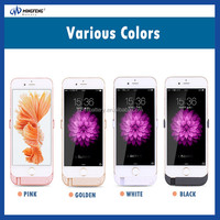 Different Capacity Emergency Portable Battery Case Charger for iPhone 6 6s and iphone 6 6s plus Power Pack Many Designs