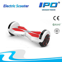 500W 8inch hoverboard 2 wheels balance electric scooter with LED