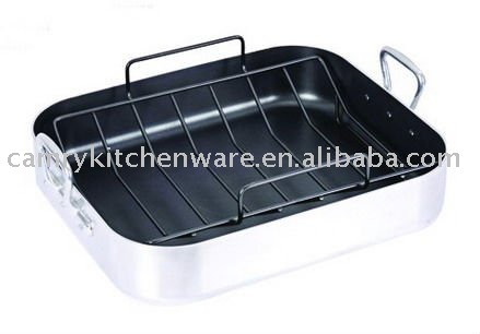16 Inch Turkey Roaster_Aluminum Roasting Pan