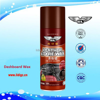 Car dashboard shine spray wax