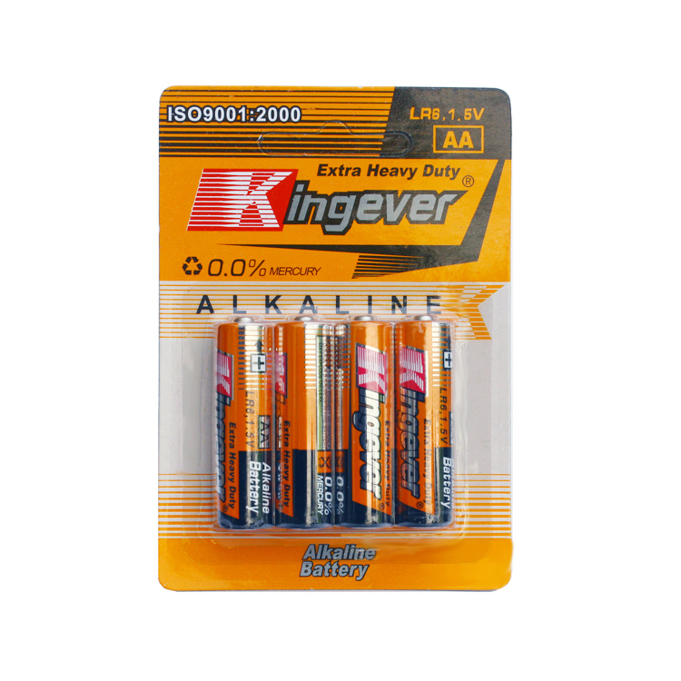 Nominal Voltage lr6 1.5v aa Alkaline Battery