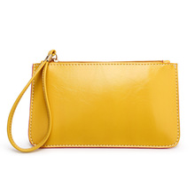 Free shipping Wholesale Womens Pouch Clutch Purses and Handbags Travel Leather Zipper Wallet Phone Pouch bag