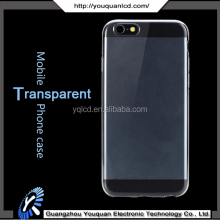 High quality 0.3mm thickness for iphone 6s soft tpu transparent clear crystal cell phone cases for iphone 6s