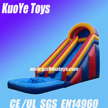 inflatable games of ponds with toboganes