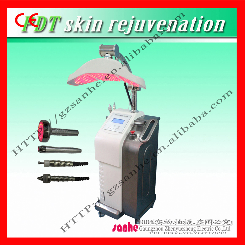latest PDT therapy LED skin rejuvenation beauty device for beauty salon