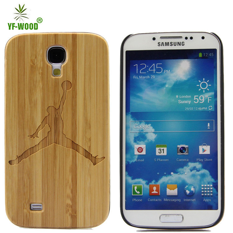 New Arrival Mobile Phone Accessories For Samsung Galaxy S4 Wood Phone Case Cover