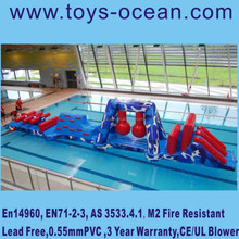 inflatable water obstacle for pool,inflatable water obstacle course,inflatable obstacle for aqua