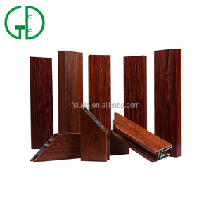 Wood Coating Anti-Corrosion Aluminium Alloy Profile