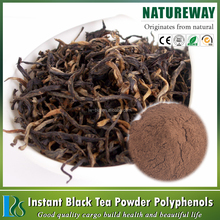 Factory 100% Natural Organic Instant Black Tea Extract Powder 25%polyphenols, Black tea powder