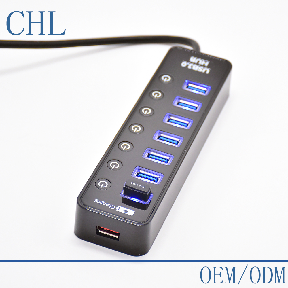 Multi Port USB HUB 3.0 With Power <strong>Delivery</strong> LED ON/OFF CHL-U3HB20-A