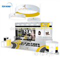Detian Offer modular material exhibition booth for expo show