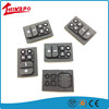 OEM Custom Heat Resistant Silicone Rubber Keypad Conductive Button