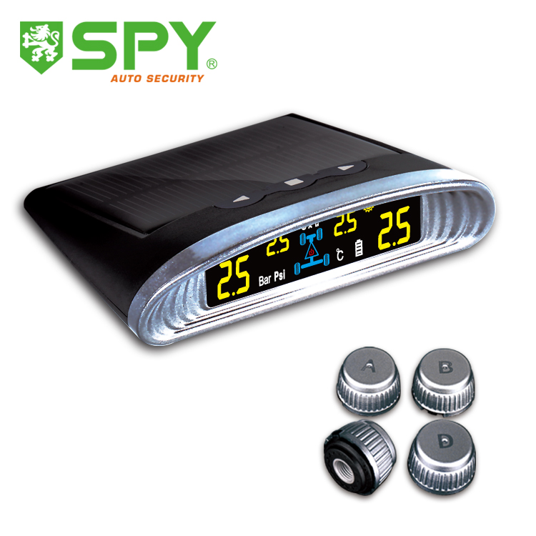 SPY high quality solar power tpms with external sensors