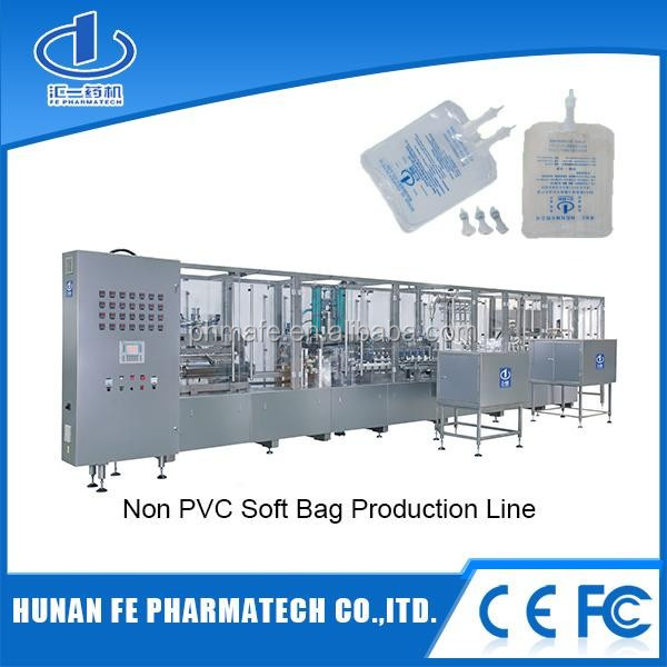 Small poly bag liquid filling machine