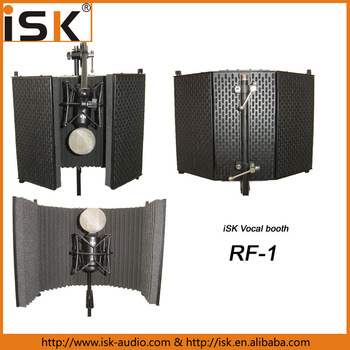 High quality microphone Screen Vocal Booth for recording