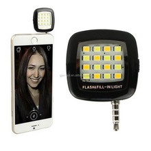 16 Lamp Mobile Phone Flashlight Night Using Selfie Enhancing Dimmable Flash Cell Phone Camera Flash Led Selfie Flash Light