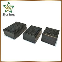 Bottom price custom wooden jewelry box for gift fashion factory wooden jewelry case