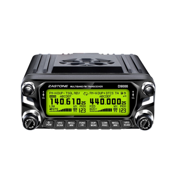 2018 new launch TRANSCEIVER ZASTONE ZT-D9000 50watts VHF UHF base station walkie talkie All Hf 0.5-30mhz Bands Radio For Car