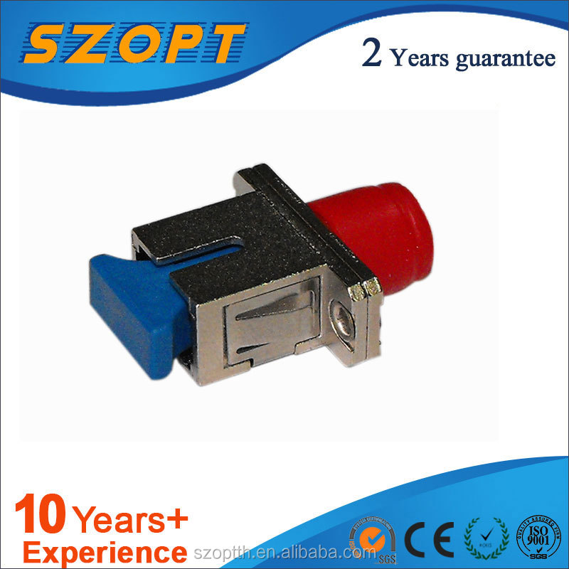 FTTH Hybrid Metal SC to FC Fiber Optic Adaptor/Coupler