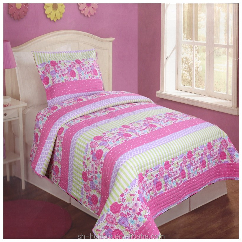Hot sale fashion design print quilt,patchwork quilt ,chinese home textile