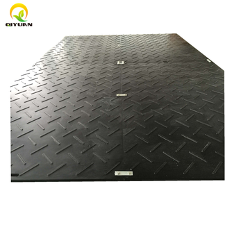 Temporary road mats / Plastic moving walkway / Ground protection mat on sale