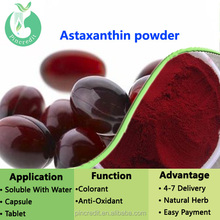 cheap price 100% pure natural astaxanthin powder / Astaxanthin