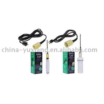 Electrical leads for lamps
