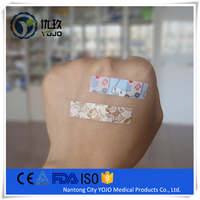 China Supplier Medical Cartoon Kids Non Latex Band Aids