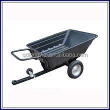 Heavy duty china small axle atv trailer