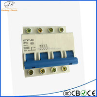 DZ47-60 high quality industrial marine circuit breaker for wholesaler