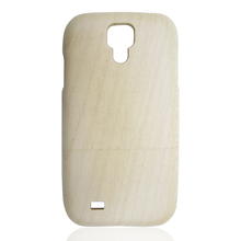 Manufacture customize maple wood phone case , highly protective wood covers cheap phone hull for Samsung S4
