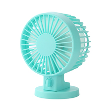 Dual Motor Two Leaf Blade Portable USB Mini Fan Standing Angle Adjustable Desk Fan