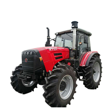 Supply YTO 130hp 4x4 drive farm tractor 1304 with reversible plow
