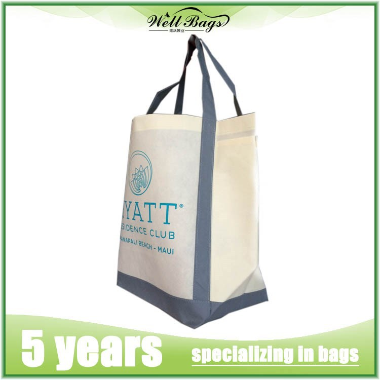 Factory Cheap Price eco recycled PP Woven shopping bag / Non Woven Tote Bag