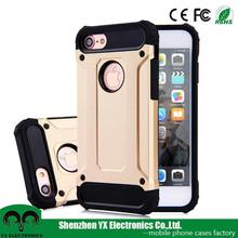 Rugged Protective Defender Dual Layer Shockproof Cell Phone Case for iphone 7