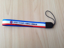good quality mobile phone lanyard, cellphone polyester lanyard