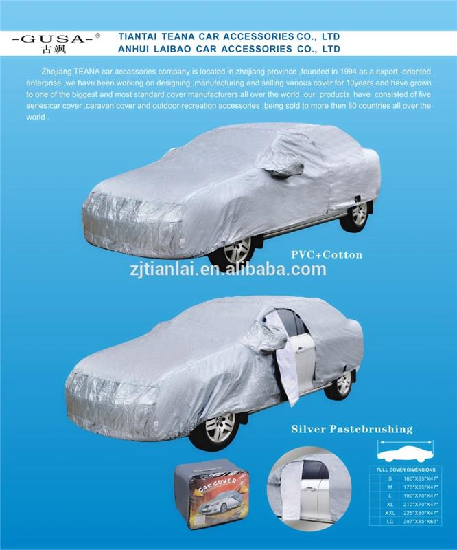hail proof car cover with soft backing PEVA car cover with CE certificate