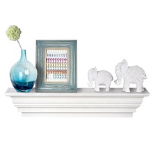 Wooden Home Decorative Floating Wall White <strong>Shelf</strong>