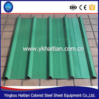 Color Corrugated Metal Roof Shingles