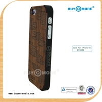 promotional bamboo wood case fjord 4g for iphone 5s