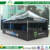 Outdoor shade 4x8 canopy aluminium printed branding pop up tent with side wall